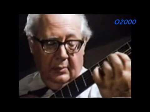 Andres Segovia-Bach Music
