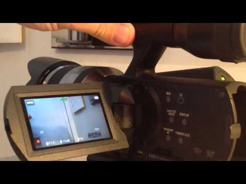 Sony NEX-VG20 Review by Timothy West