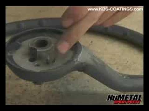 KBS Coatings - NuMetal - Epoxy Putty - Steering Wheel Repair - Part 2