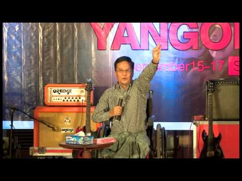 HISTORY MAKER & YOUTH CONFRENCE YANGON 2014 (Pastor Kyaw Kyaw)