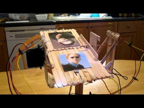 Solar Tracker - Arduino Uno Motor Shield