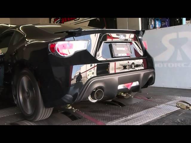 Tanabe Medalion Concept G Exhaust Dyno - Subaru BRZ