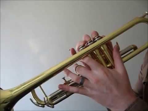 b Flat Blues Scale Trumpet bb Blues Scale on Trumpet