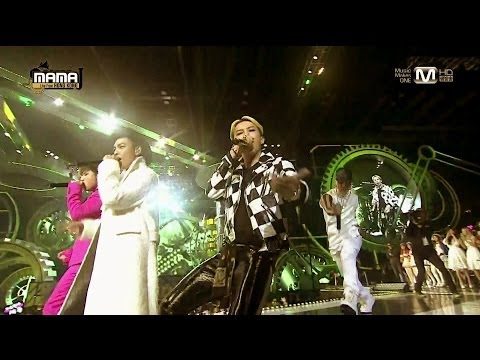 Bigbang 1123 mama performances video