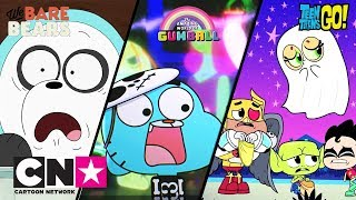 Teen Titans Go! + Gumball + We Bare Bears | Halloween-Abenteuer | Cartoon Network