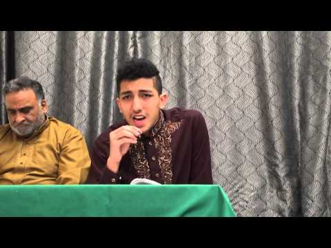Hassan Raza Izzat Khuda Ki Fatima Eid E Zehra video