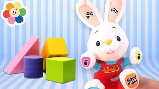 BabyFirst Playset | Harry The Bunny Toy Teaches Kids Shapes | Learning With Educational Kids Toys