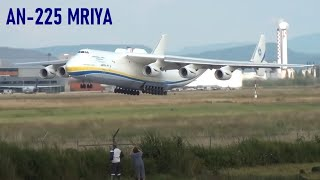 ✈ GREAT Antonov An-225 Mriya landing at Basel Mulhouse - the world largest Airplane