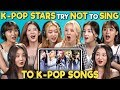 K POP STARS REACT TO TRY NOT TO SING CHALLENGE MOMOLAND 모모랜드 mp3