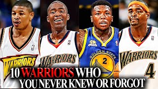 10 Golden State Warriors Players You NEVER Knew Or FORGOT