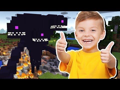 Minecraft: UMA CRIANÇA DE 9 ANOS FEZ ESSE MAPA PRA MIM!!!