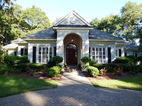 Colleton River Plantation Home With Golf View At 46 Inverness Drive
