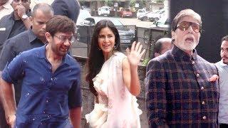 Aamir Khan,Amitabh,Katrina Kaif,Fatima Sana Shaikh Arrive @Thugs Of Hindoston Trailer Launch