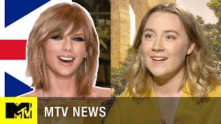 Taylor Swift Accent Challenge w/ Saoirse Ronan   MTV News