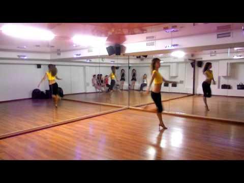 Strip-latina in Raisky Dance Studio - Jane Kornienko