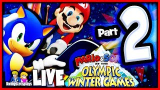 Mario & Sonic at the Sochi 2014 Winter Olympic Games Hockey Fury!