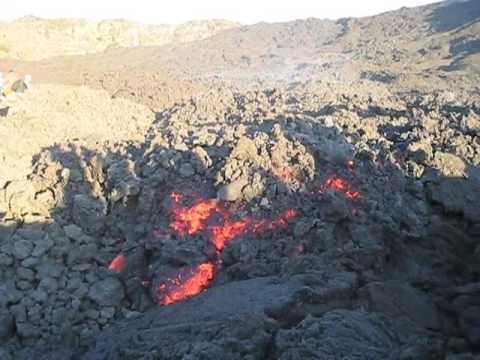 Pacaya Volcano near Antigua, Guatemala