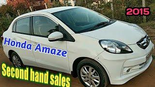 Honda Amaze second hand sales in tamilnadu