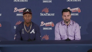 Ozzie Albies contract extension press conference, LIVE from SunTrust Park