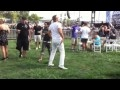 White guy dancing, Electric Zoo 2010 VIP