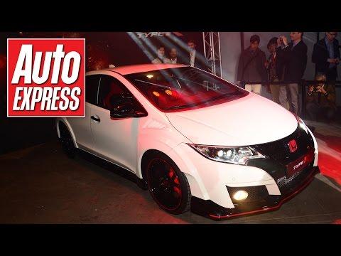 Honda Civic Type R revealed at the 2015 Geneva Motor Show