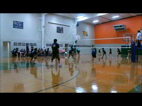 Brevard Academy for Individual Excellence vball 1st win part2