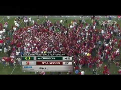 2009 Stanford football highlights: Stanford 51, Oregon 42