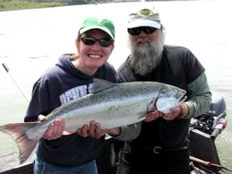 King (Chinook) Salmon Rogue River Gold Beach, OR