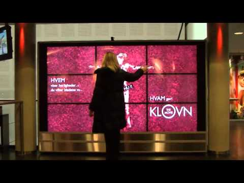 Klovn The Movie - Interactive Wall Campaign - Nuppenau video
