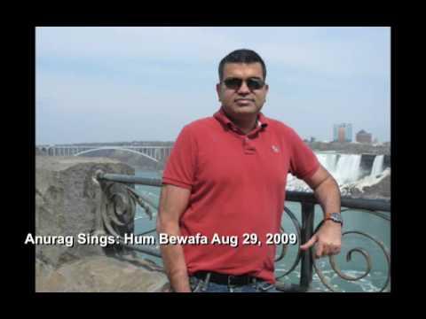 Anurag Sharma Sings Hum Bewafa (Shalimar)