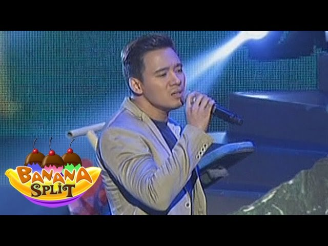 Banana Split: Erik Santos sings for Baby Boy & Girl