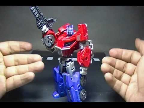 VIDEO REVIEW TRANSFORMERS GENERATION OPTIMUS PRIME.