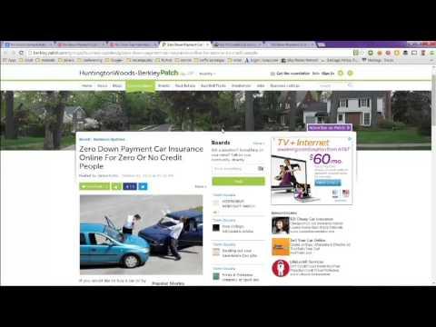 No Down Payment Auto Insurance Online
