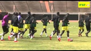 Can 2017 | Senegal - Niger -/- Dernière séance d'entraînement