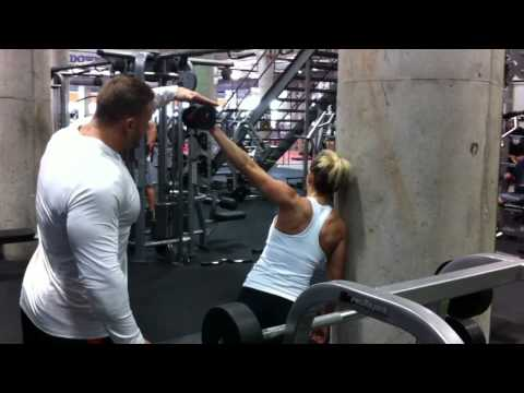 Women Fitness Training: Get Sculpted Shoulders