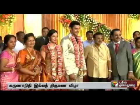 M Karunanidhi's Grandson Actor Arulnithi-keerthana reception: more celebrities participated