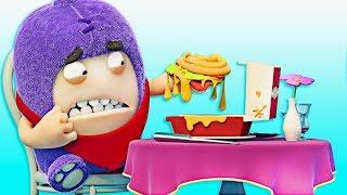Oddbods | Fine Dining | Funny Cartoons For Children | Oddbods & Friends