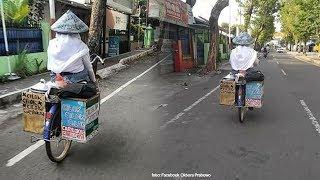 Viral Foto Siswi SMK Karanganyar Jual Cilok