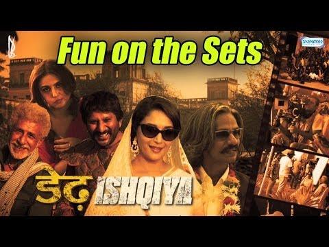 Fun On The Sets With Huma Qureshi - Dedh Ishqiya