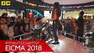 Aprilia RS 660 Concept - EICMA 2018 [ENGLISH SUB]