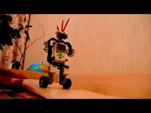 Lego mindstorms ev3 balancing robot (RUS)