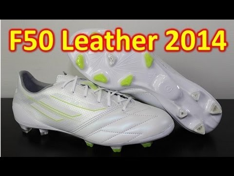 Adidas Leather F50 adizero miCoach 3 2014 Whiteout - Unboxing + On Feet