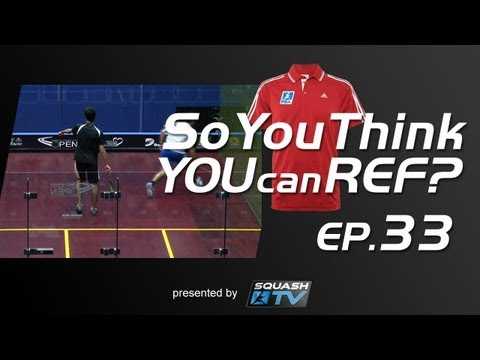 Squash : So You Think You Can Ref? EP.33 : Gawad v