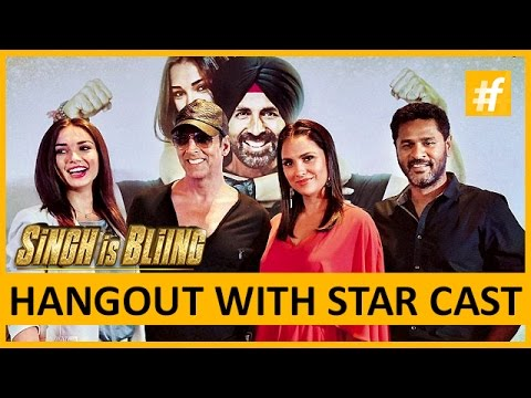 Akshay Kumar, Amy Jackson, Lara Dutta, Prabhu Deva | Singh is Bliing Star Cast Exclusive Interview
