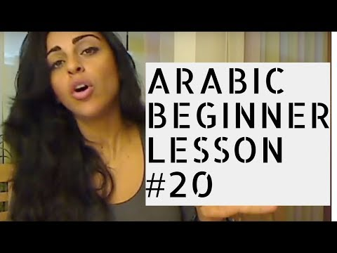 Arabic Beginner Lesson 20- The Adjective