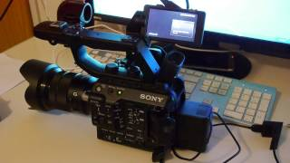 Sony PXW-FS5 RAW-Upgrade  Firmware-Version 3.0
