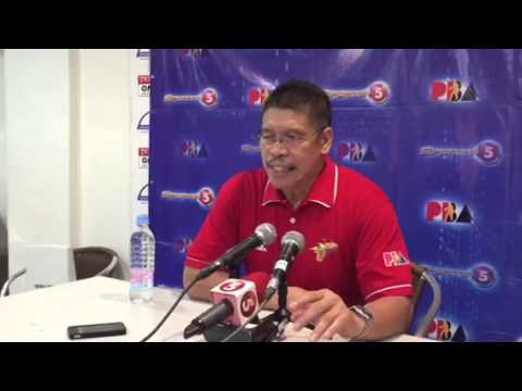 Post-game interview with San Miguel coach Leo Austria after win over Globalport