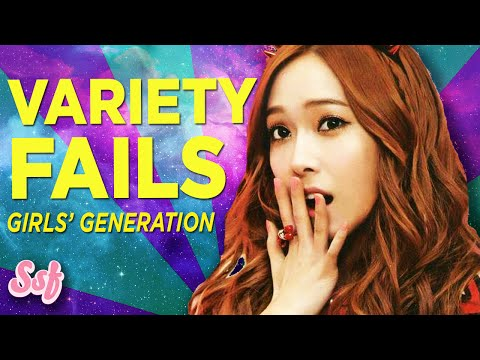 7 Epic Fails Girls' Generation (snsd) Variety Shows Facts L Soshified video