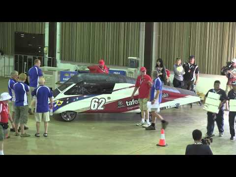 World Solar Challenge   Veolia 2011   Scrutineering Oct 14