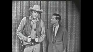 JAMES ARNESS FROM GUNSMOKE. The Johnny Carson Show from 1955.